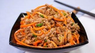 Хе из мяса - Наталья Ким(Хотите узнать, как готовить Хе из сырого мяса? Смотрите видео! Рецепт доступный каждому! Адрес нашего сайта..., 2013-04-21T05:02:05.000Z)