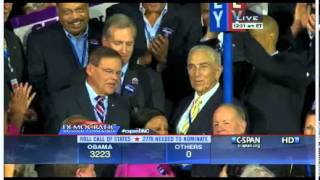 2012 Democratic National Convention New Jersey Roll Call