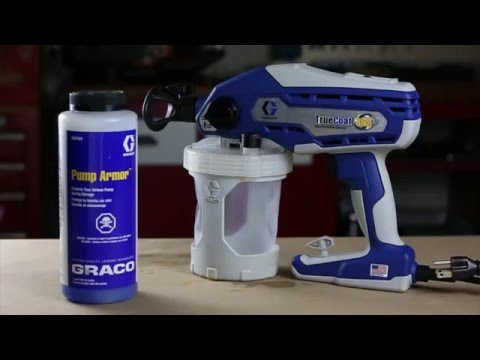 How To Store Your Graco TrueCoat 360 Sprayer