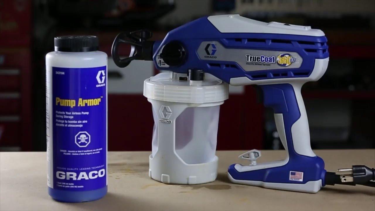da4c073273488 How To Store Your Graco TrueCoat 360 Sprayer
