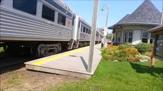 加拿大旅游景点 : 历史文化古迹火車站 1809年成立