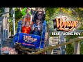 The Voyage Roller Coaster Rear-Facing POV | Holiday World