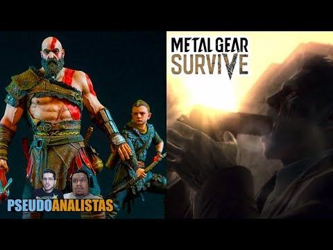 Konami C@GA Metal Gear Surive - DEMO God of War - DBFZ | #Pseudoanalistas S02E25