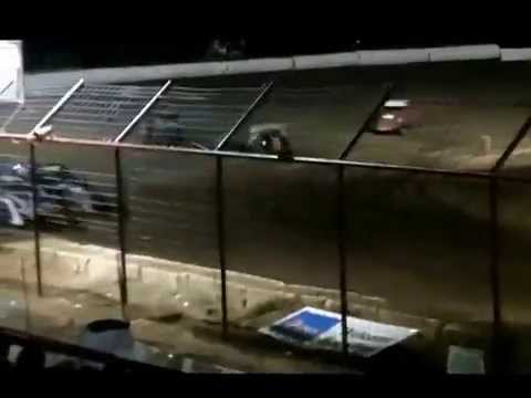 Bay Area Modifieds Heat #2 at Flomaton Speedway May 9, 2015