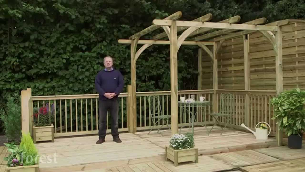 features of forest u0027s decking kit range youtube