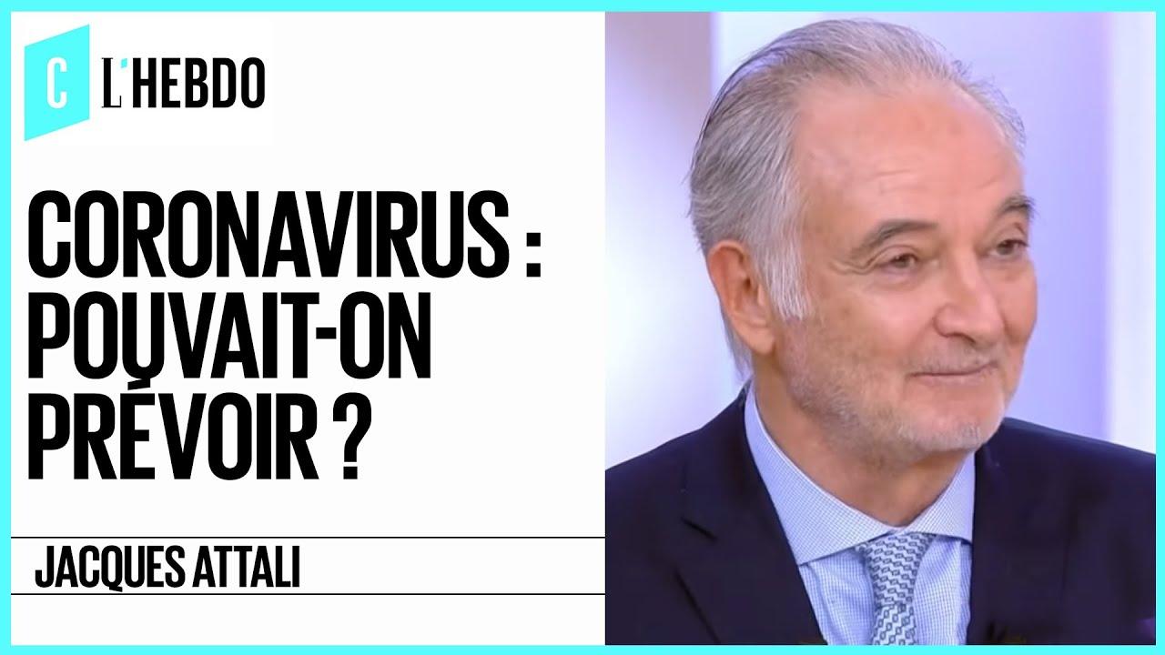 Coronavirus : le monde d'après avec Jacques Attali - C l'hebdo - 28/03/2020