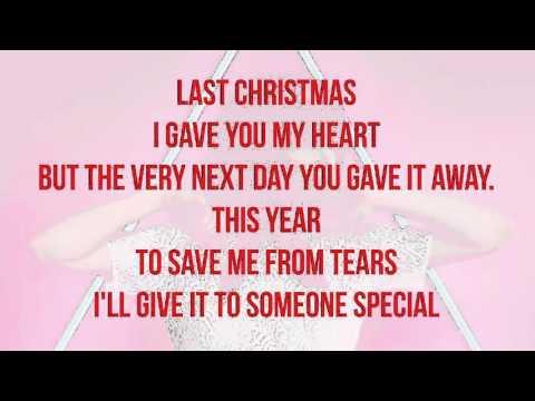 Carly Rae Jepsen - Last Christmas (Lyrics)