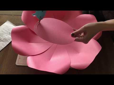 Arabella Paper Flower Tutorial