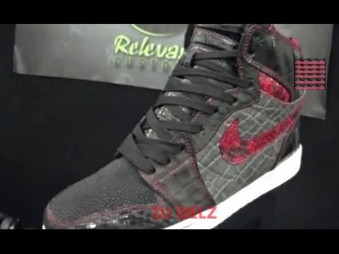 Jayz x Air Jordan 1 Brooklyn Zoo Sneaker Detailed Review & More By Relevant  Customs With @DjDelz - YouTube