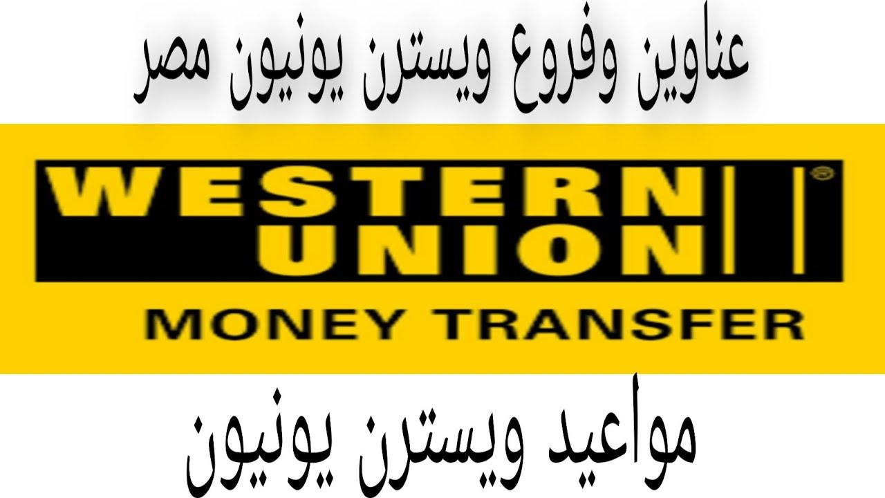 فروع ويسترن يونيون مصر 2020 Western Union Youtube