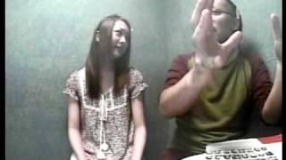 宮川賢と浜田翔子のニンニンちくび2009年6月22日(月)③ なんとなんと舞...