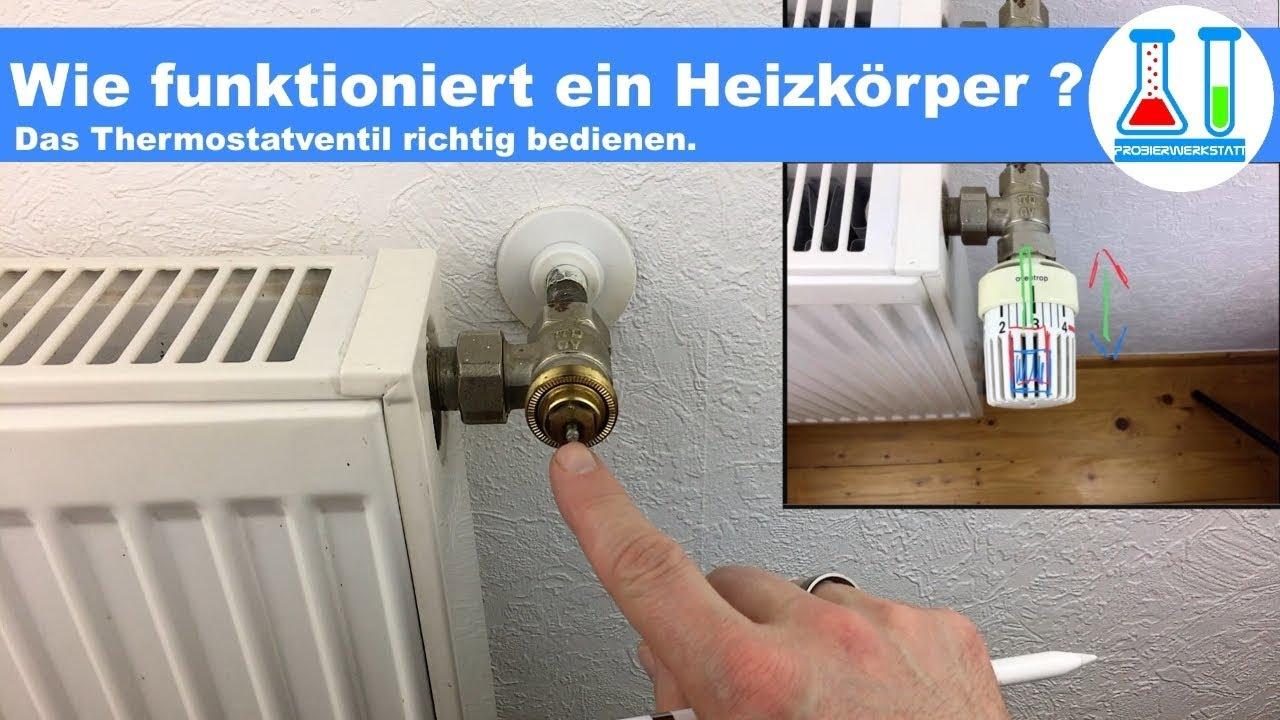 Wie Funktioniert Ein Heizungs Thermostat Wie Muss Ich Den