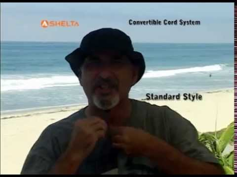 37edfbc0b08c3 Shelta Sun Hat Convertible Cord System - YouTube