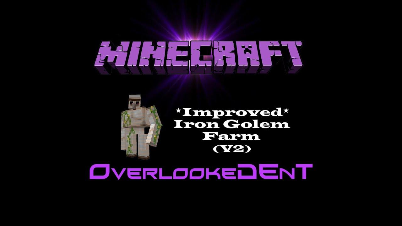 Improved iron golem farm v2 minecraft xbox 360ps3 improved iron golem farm v2 minecraft xbox 360ps3 tutorial ccuart Choice Image