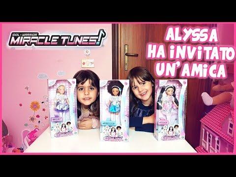 3 bambole Miracle Tunes con Alyssa e Matilde