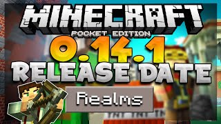 MCPE 0.14.1 Release Date Confirmed?! - Realms + Free Minecraft Story Mode Skin Pack!!