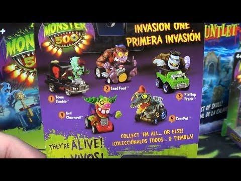 Monster 500! Monster Cars At Toys R US USA