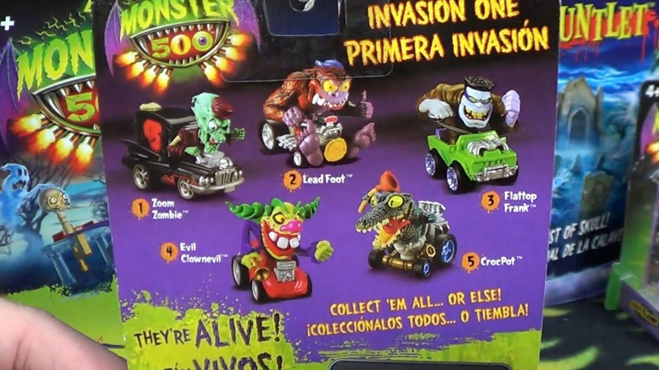 Monster 500! Monster Cars at Toys R US USA - YouTube