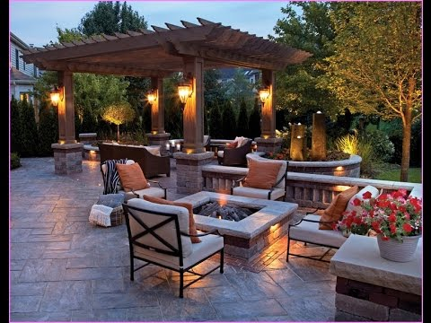 Patio Design With Fire Pit