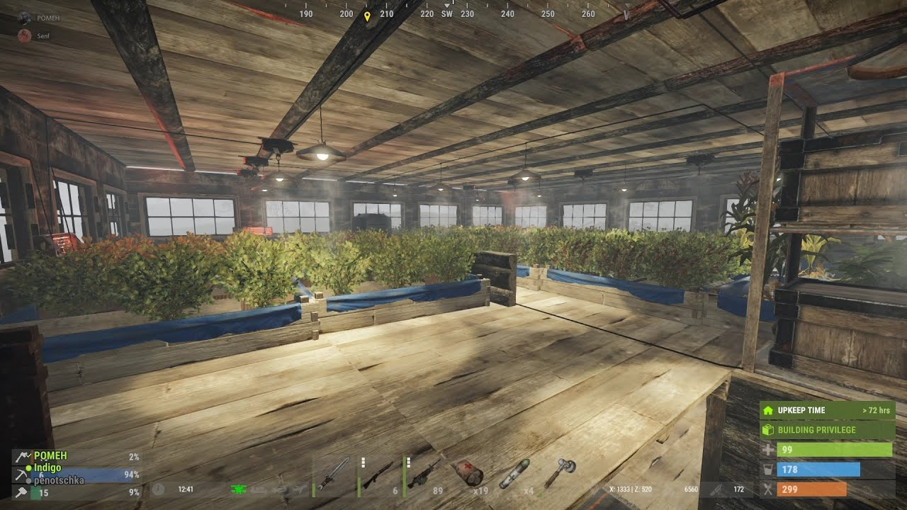 Дневники Rust 2. Огород. Выращивание ягод и производство чая