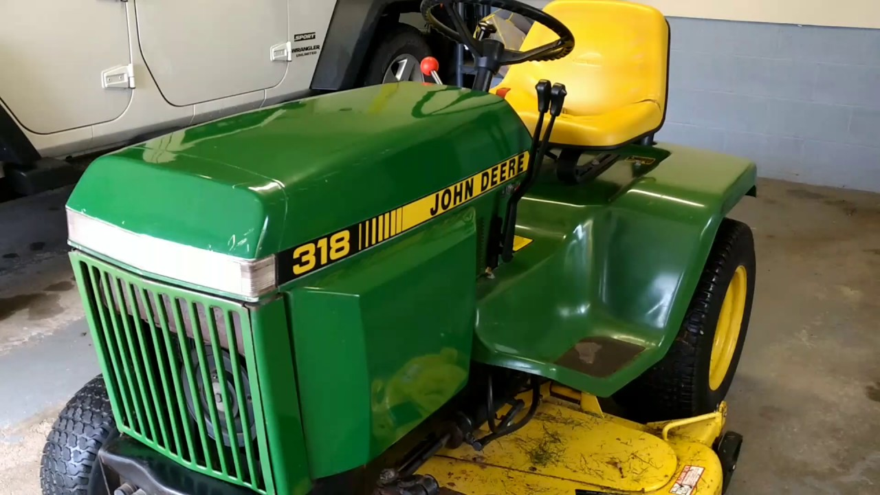 How to fix fuel issues with older John Deere Tractors