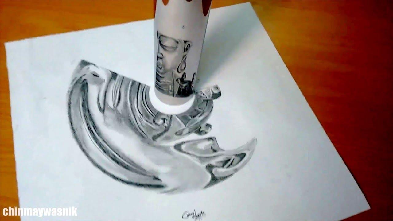 how to make cylindrical anamorphic art