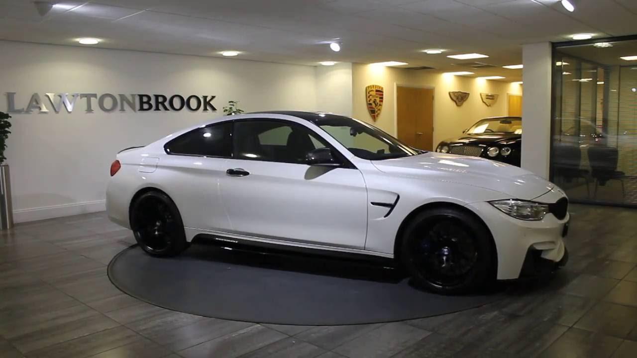 BMW M White With Black Lawton Brook YouTube - Black bmw m4