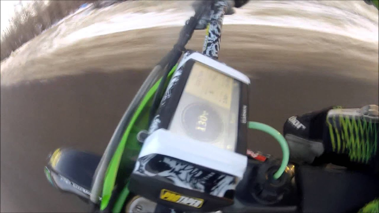 KAWASAKI KX450F TOP SPEED - YouTube