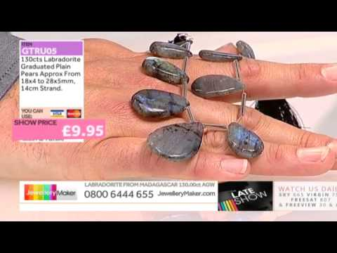 Agate Strand on The Late Show with Ed McKay (JewelleryMaker) LIVE 15/09/2014