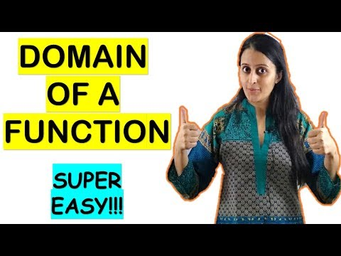 DOMAIN OF A FUNCTION FOR CBSE/ISC/JEE/NDA/CET/BANKING/GRE/MB