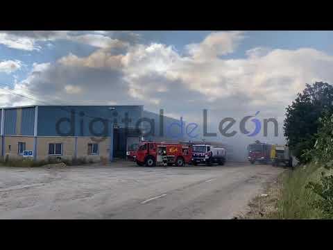 Terrible vídeo del incendio en Valverde de la Virgen