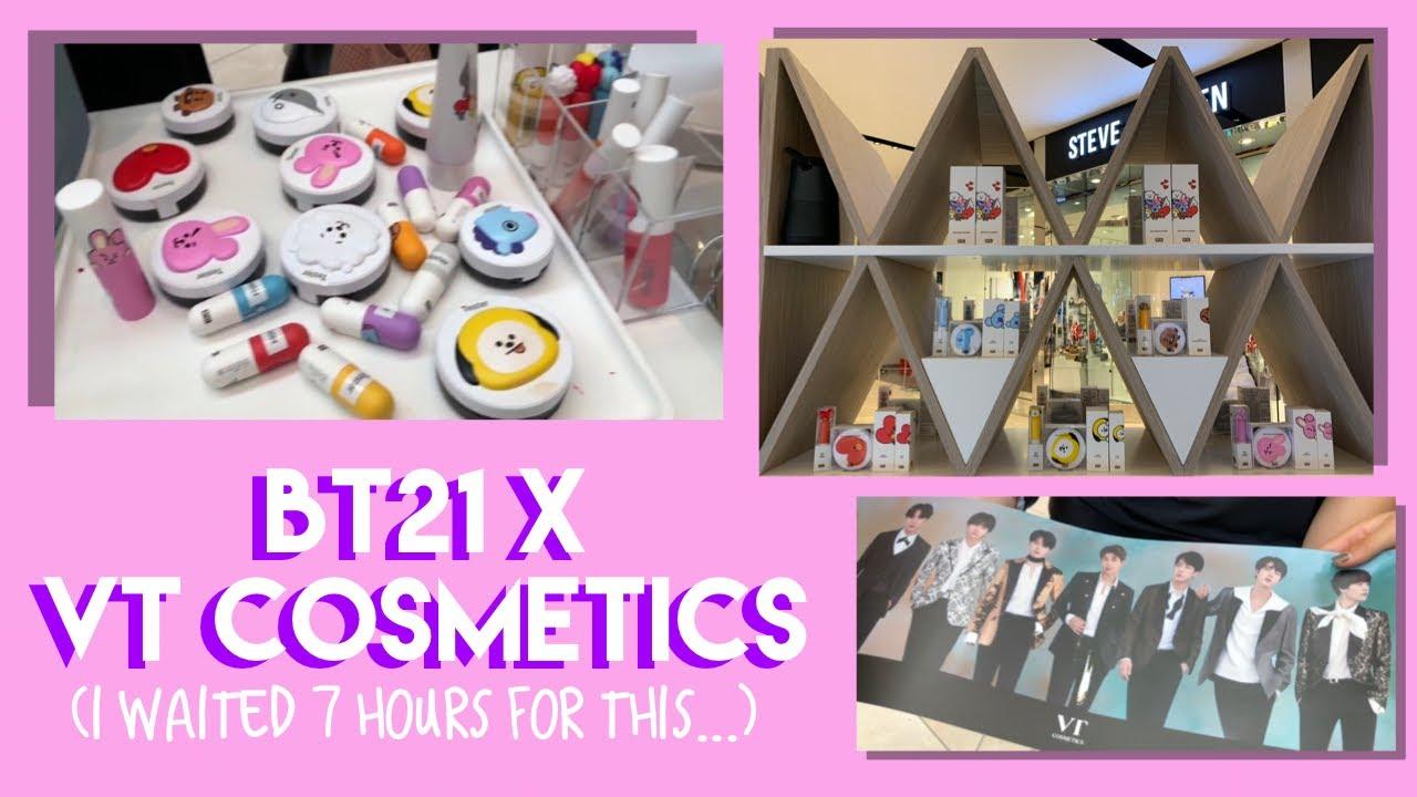 BT21 x VT Cosmetics Pop Up Shop Launch Day