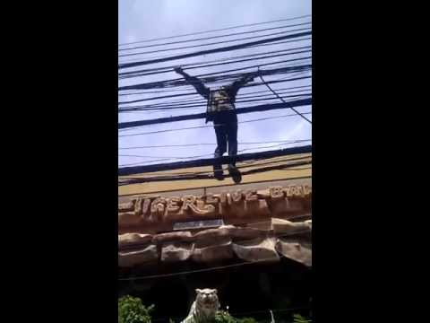 Health and safety in Thailand....Crazy!