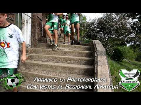 PRETEMPORADA PARA ACHIRENSE - TORNEO REGIONAL AMATEUR 2019