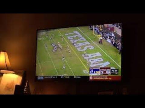 Dramatic Ending of #TAMUvsLSU 2018 #CFB game in College, Station, Texas