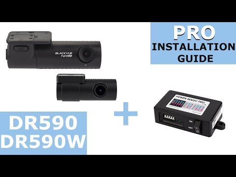 BlackVue DR590 And DR590W Series And Power Magic Pro – Installation Guide