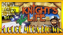 HUUUGE MEGA BIG WIN|  Mr Green- KNIGHTS LIFE auf 2,50€/ 5€ und 10€