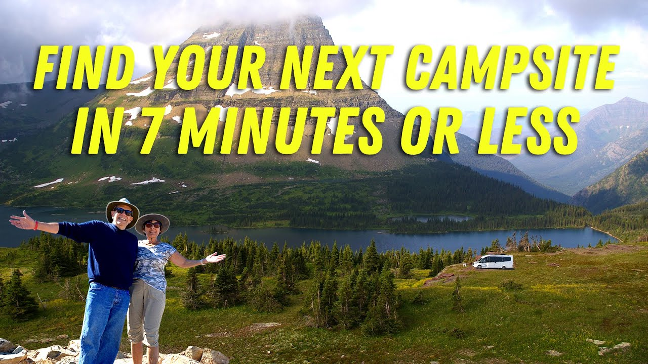 How To Find A Great Campsite In 7 Minutes or Less! RV Podcast 354