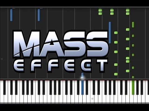 Mass Effect - Main Theme [Original Piano Tutorial] (♫)