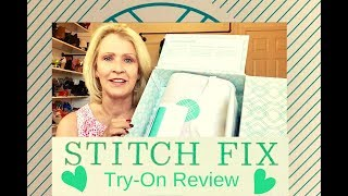 Stitch Fix Review - Spring Tops 2019