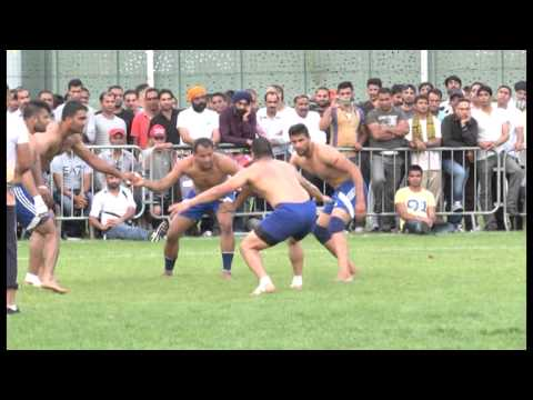 SINGH SABHA SPORT CLUB FRANCE KABADDI PART 5 SAMMY FINAL