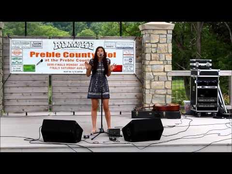 Ciera Flory-Preble County Idol Regional Tryouts