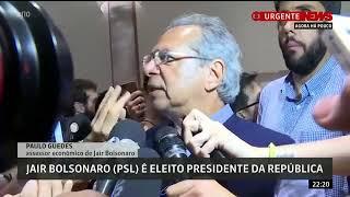 Paulo Guedes diz que prioridade do governo Bolsonaro é dar continuidade a reforma trabalhista