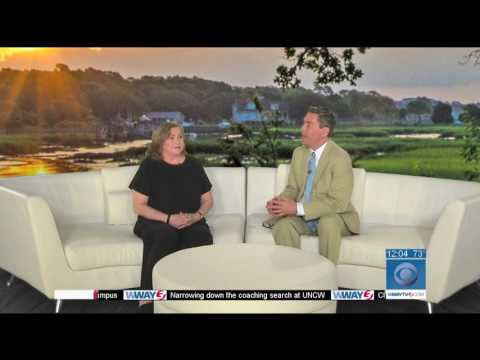 Kathleen Turner visits Wilmington