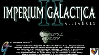 Imperium Galactica 2 gameplay (PC Game, 2000)