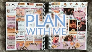 Plan With Me | Erin Condren Life Planner | Paper Loving Mommy Woodland Critters