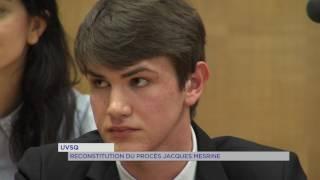 UVSQ : Reconstitution du procès de Jacques Mesrine au tribunal de Versailles