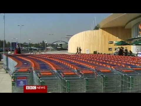 Harrods of London sold to Qatar. Joe Lynam BBC New...