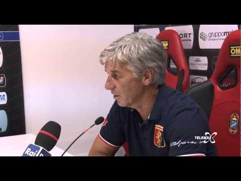 Intervista al mister Gian Piero Gasperini Lanciano Genoa 0   1