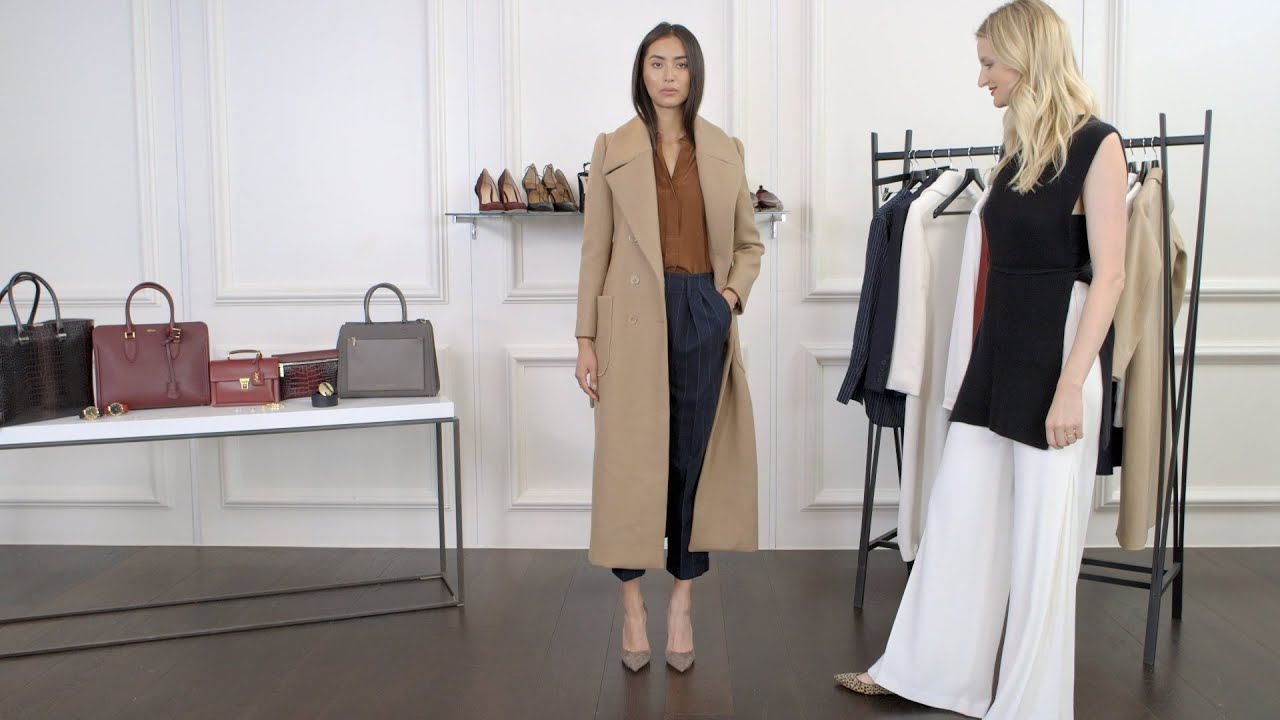f6013722c38 How To Dress for Work  Chic 9-5 Style - YouTube